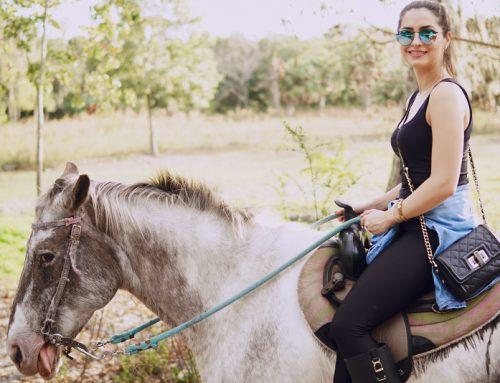Sportkleding voor de paardrijders